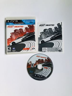 Need For Speed most wanted PlayStation 3 for Sale in Long Beach, CA