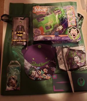 DC Joker Christmas Stocking Gift Bag Bundle for Sale in Los Angeles, CA
