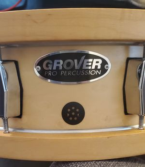 Grover pro wooden hoop snare for Sale in Marvin, NC