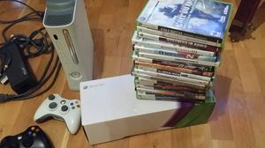 Xbox 360 and 18 great games! for Sale in Chicago, IL