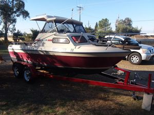 1988 marlin cuddy cabin new v6 motor and out drive for Sale in Orland, CA