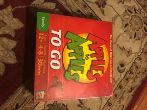 Apples to apples to go game for Sale in Herndon, VA