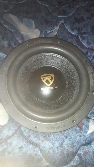 2 Rockville 10 inch speakers for Sale in Charlottesville, VA