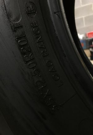 "Tires 35/12.5r20 good thread "" 2 only "" for Sale in Elkins, WV"