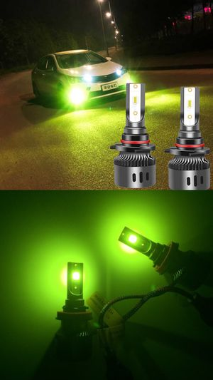 LED Lime green headlights or fog lights CSP LEDs for Sale in East Los Angeles, CA