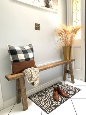 Antique Inspired Skinny Bench for Sale in West Covina, CA