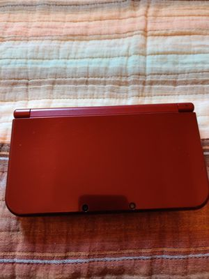 Red Nintendo new 3ds xl with 200 3ds games , ds , 2ds for Sale in Los Angeles, CA
