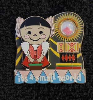 Disney Pin #200, LE (2000), 2015, A Piece of Disneyland Resort History, It's A Small World for Sale in San Diego, CA