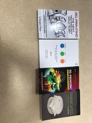 5 books (1 repeat) on 3D printing for Sale in Shoreline, WA