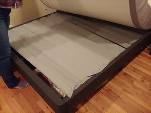 Queen Nectar bed and frame for Sale in Bellingham, WA