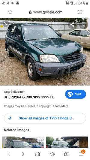 1999 Honda crv $$ for Sale in Inman, SC