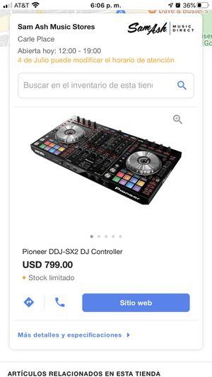 Pionner ddj -sx 2 controller for Sale in The Bronx, NY