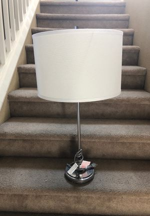 Silver lamp for Sale in Reedley, CA