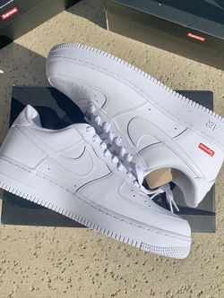Nike Air Force 1 Low x Supreme White CU9225-100 New DS Sizes 9.5 // 11 // 12 for Sale in La Puente,  CA