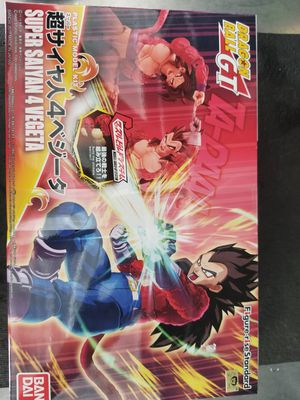 Dbz ssj4 Vegeta Model Kit FS/FT for Sale in San Diego, CA