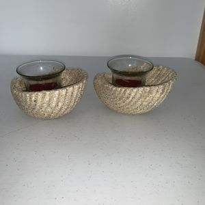 Seashell ceramic candle holder for Sale in Shelbyville, TN
