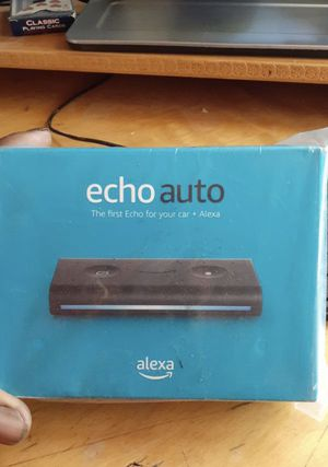 Echo Auto - Hands-free Alexa in your car with your phone for Sale in Germantown, MD