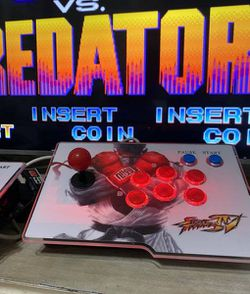 SICK 4000+ Games 2 Player Arcade Joystick Console In HD for Sale in Hacienda Heights,  CA