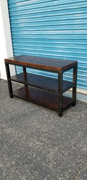 Industrial style Mackenzie console table. Nailhead pegs for Sale in Phoenix, AZ
