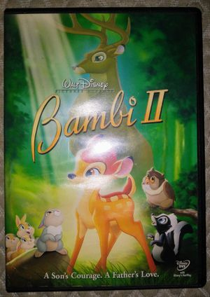 Walt Disney DVD Movie Bambi 2 for Sale in Pinellas Park, FL