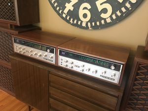 2 Sansui QRX-3500 receivers (quads), 4 Pioneer CS-63DX speakers and 4 Pioneer CS-901A speakers. Big boys and girls only please! for Sale in BETHEL, WA