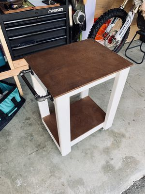 Handmade rustic rolling kitchen islands for Sale in San Diego, CA