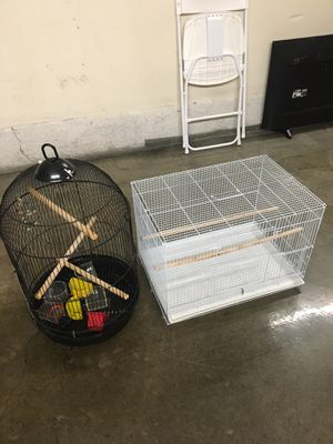2 Bird Cages For Sale ($25 for both) for Sale in Lake Forest, CA