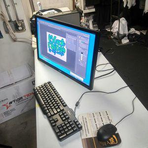 """27"""" Desktop Computer CS6 Photoshop AI Etc for Sale in Los Angeles, CA"""