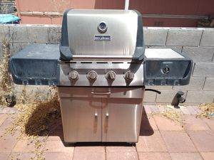 BBQ grill stainless steel very heavy $80 cash only for Sale in Las Vegas, NV
