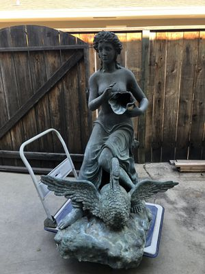 Big metal 2 spout fountain for Sale in Fresno, CA