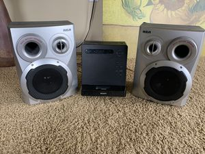 Sony RCA iPod dock CD player speakers for Sale in Seattle, WA
