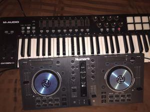 Numark Mixer Brand New 150$$ Comes With Box M Audio Oxygen 49 150$$ Brand New Comes With Box for Sale in New York, NY