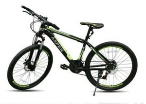 "Black and Green 26"" Aspen MOUNTAIN BIKE 21S New in the Box for Sale in Blaine, MN"
