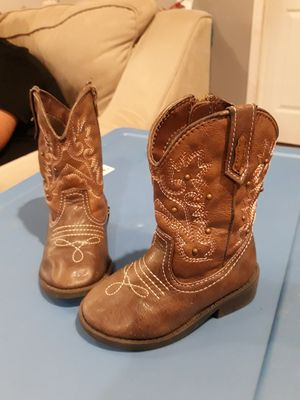 Cowboy girl boots 6c for Sale in Houston, TX
