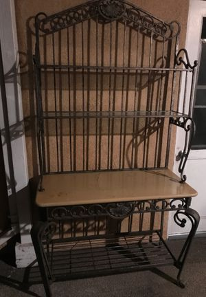 Cast Iron Bakers Rack for Sale in Buena Park, CA