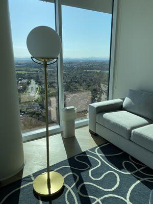 Globe Brass Floor Lamp for Sale in San Diego, CA