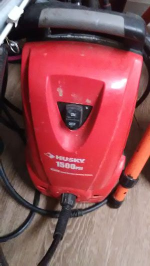 Electric Husky 1500 psi pressure washer for Sale in Obetz, OH