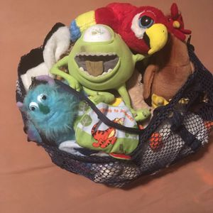 Bag of stuffed animals and toys for young kids for Sale in Verona, PA