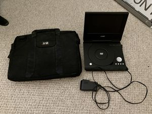 Portable DVD player and Case for Sale in The Colony, TX