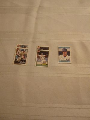 Vintage Mini Cracker Jack collectible baseball cards for Sale in Glendale, AZ