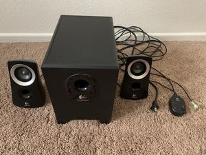 Logitech Z 313 computer or stereo speakers for Sale in Las Vegas, NV
