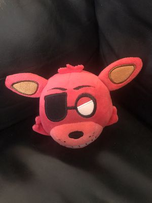 Five nights at Freddy's foxy plushie head for Sale in Chicago, IL