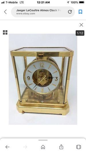 Antique atmosphere clock for Sale in Biscayne Park, FL