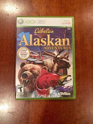 Cabela's Alaskan Adventures Xbox 360 for Sale in Philadelphia, PA