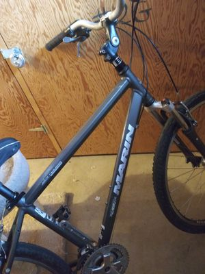 Marin mtn bike. Gr8 condition. Unfortunately both kona and the Marin were stolen from me when I was away I've got a cannondale f6 disc brakes. for Sale in Denver, CO