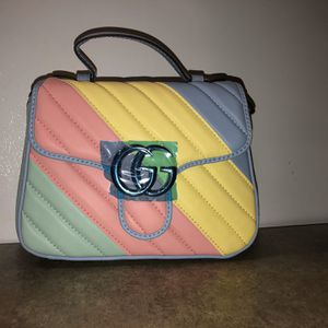 Brand New Gucci Top Handle Pastel Bag (reciept Included) for Sale in Decatur, GA