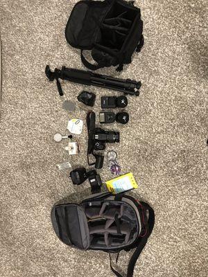 Canon EOS Rebel T6 Digital SLR Camera with 18-55mm EF-S f/3.5-5.6 bundle for Sale in Niwot, CO