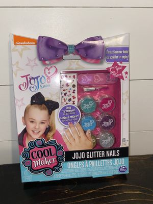 Jojo Siwa Glitter Nails for Sale in Willow Spring, NC