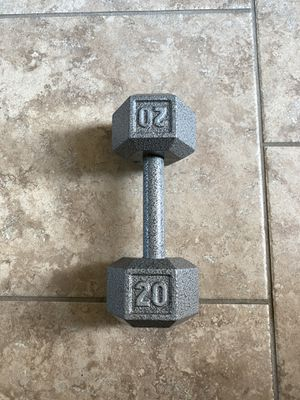 20 dumbbell for Sale in Cypress, TX