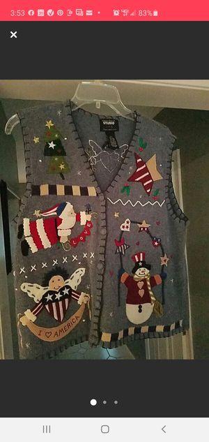 Christmas sweater / vest? for Sale in Hockessin, DE